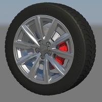 Audi a1 rim cover