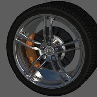 Audi r8 wheel rim  cover