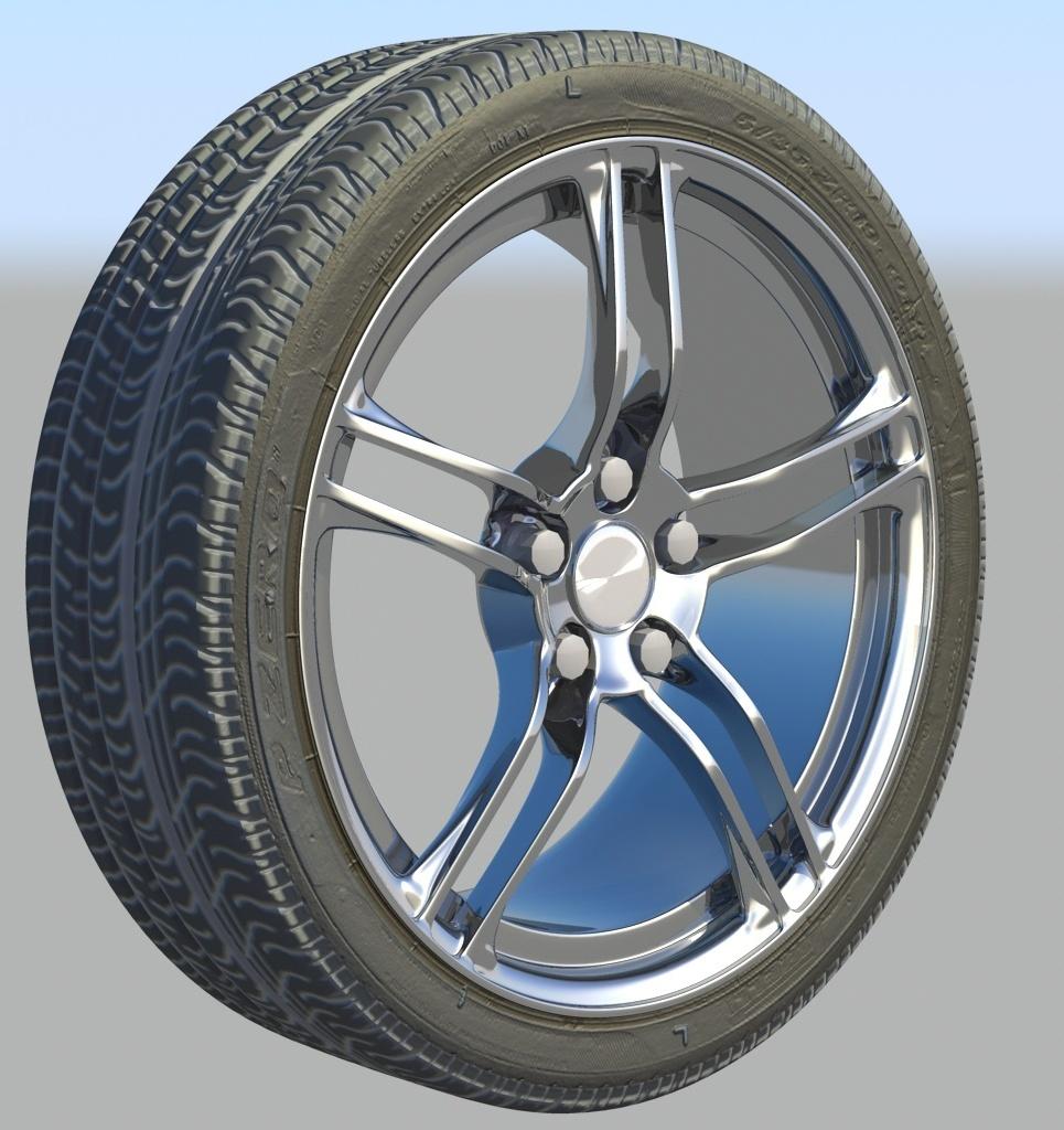 Perelli pzero corsa tire show