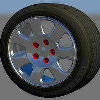 Auto audi001 rim cover
