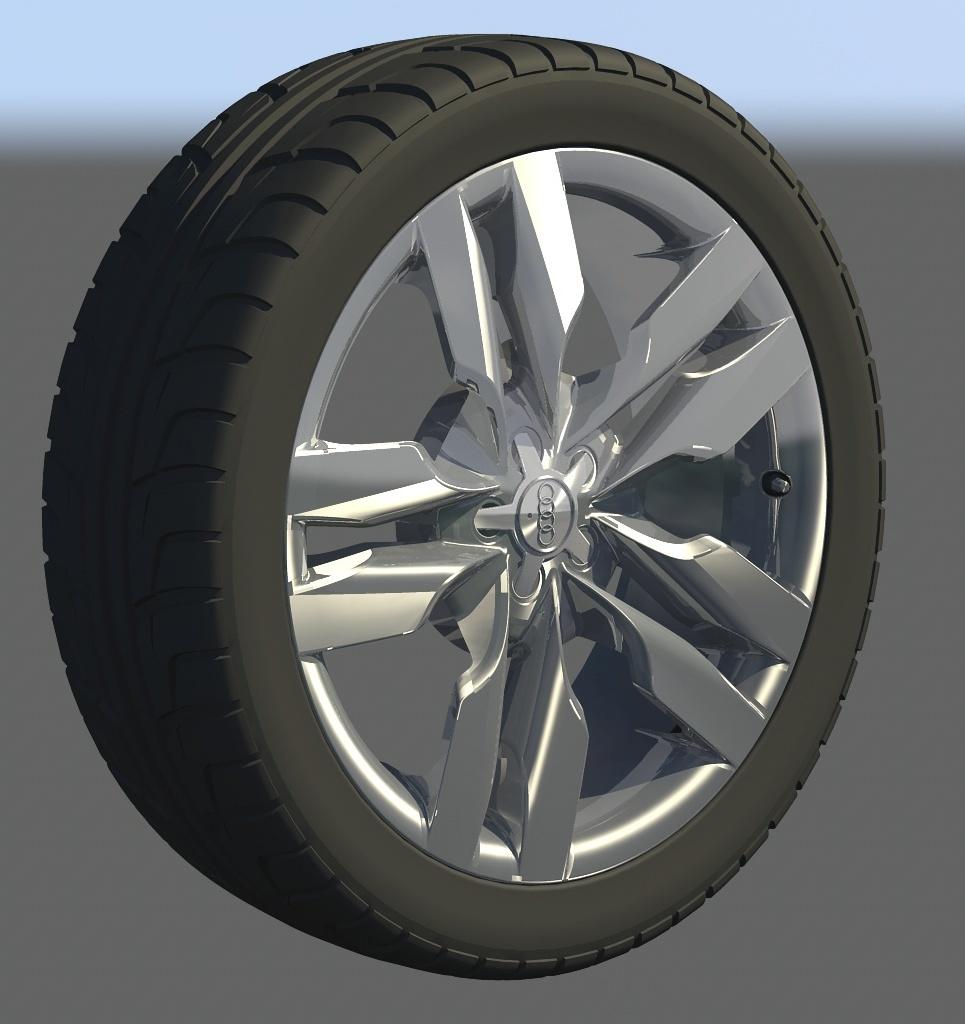 S6 wheel show