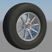 Peugeot 206cc rim cover