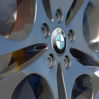 Bmw z4 rim dof  cover