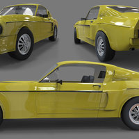 Mustang shelby cover