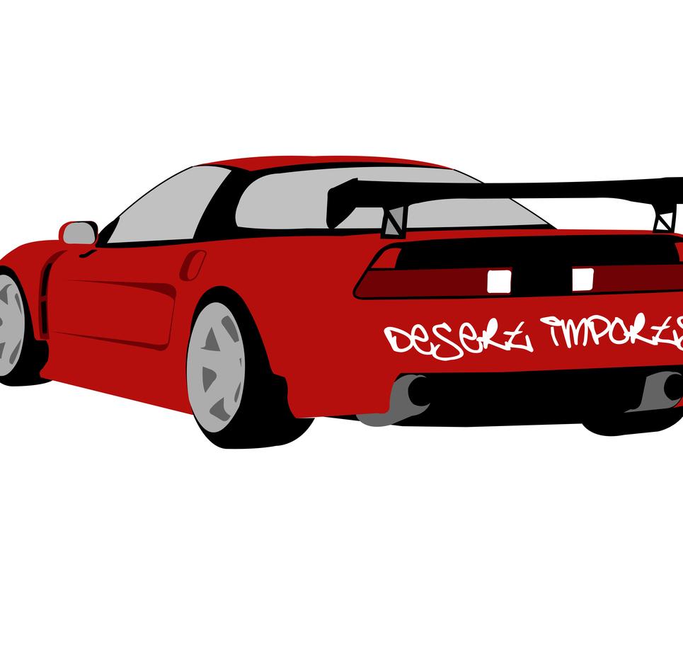 Honda vector show