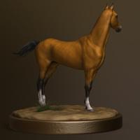 Horse back render cover