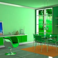 Green scene cover