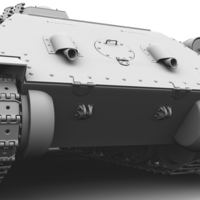 Tank back cover