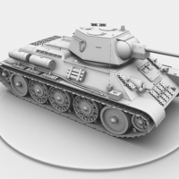 Tank right cover