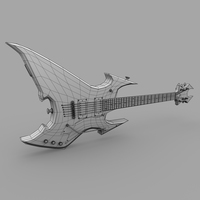 Guitar wire cover