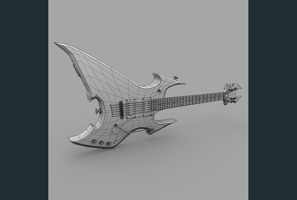 Guitar wire show