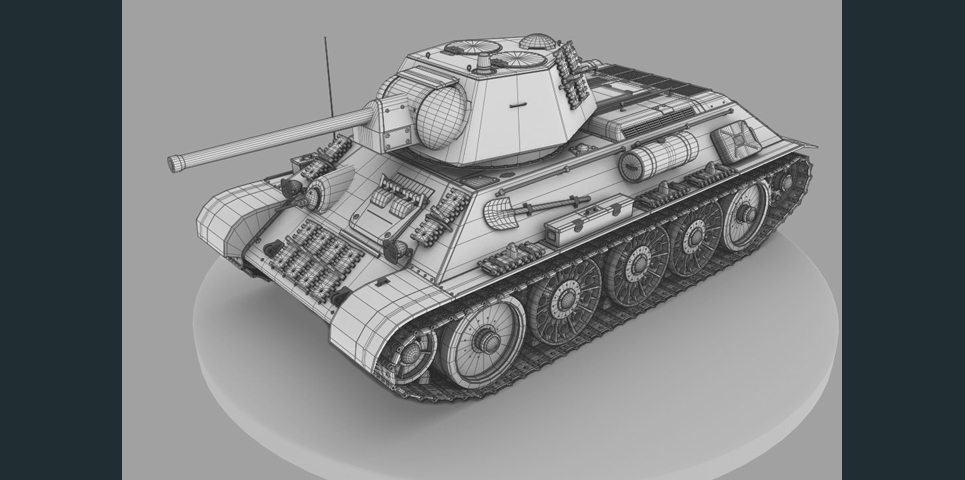 Tank wire2 show