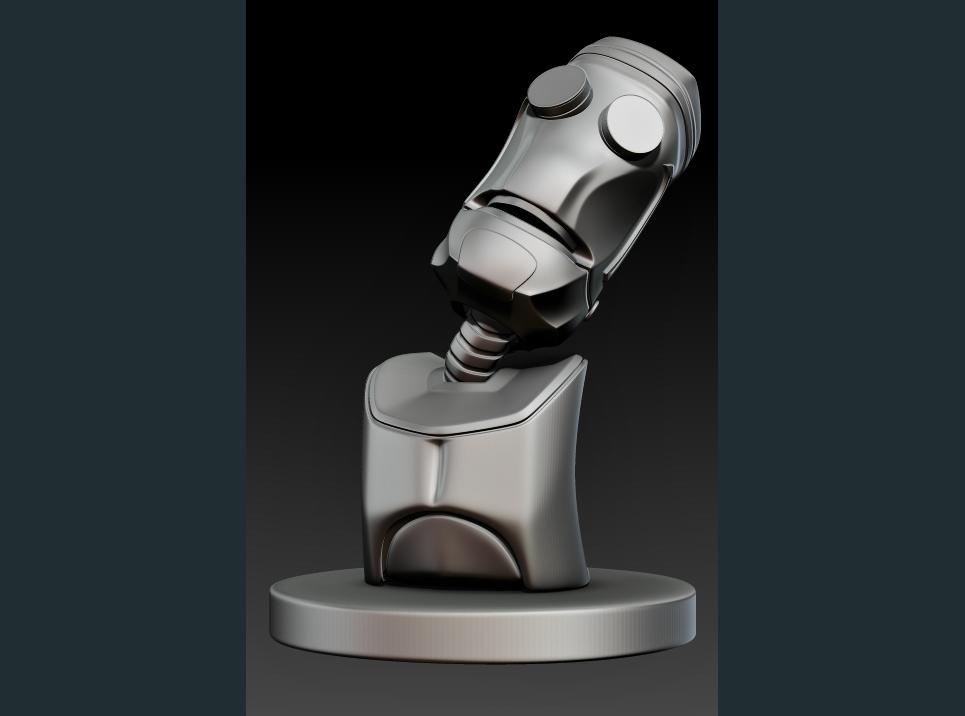 Robot bust comp show