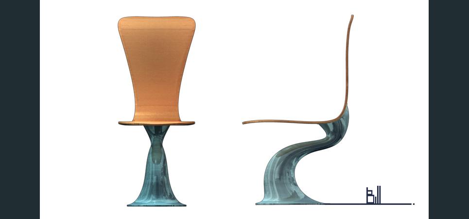 Chair blueprints show