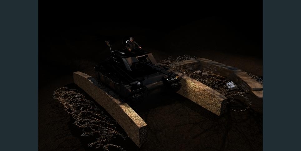 Tank commander show