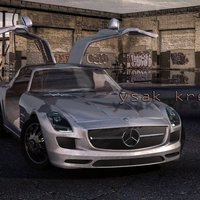 Mercedes benz sls amg cover