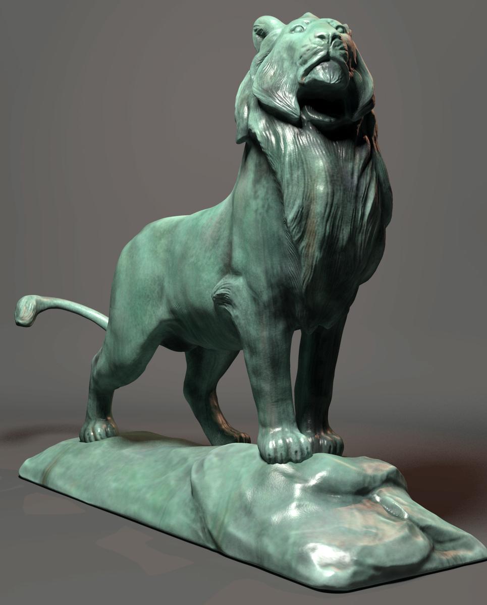 Cvbtruong lion statue 2013 show