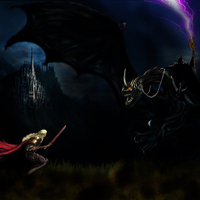 Eowyn vs nazgul small cover
