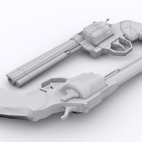 357 colt python low poly  wip  by chipz558 d5k2y8g cover