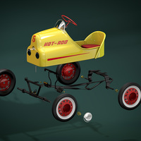 3d pedal car cgi astorza low cover
