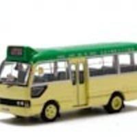 Hong kong minibus green  cover