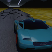 Audiiiiii 3d animation cover