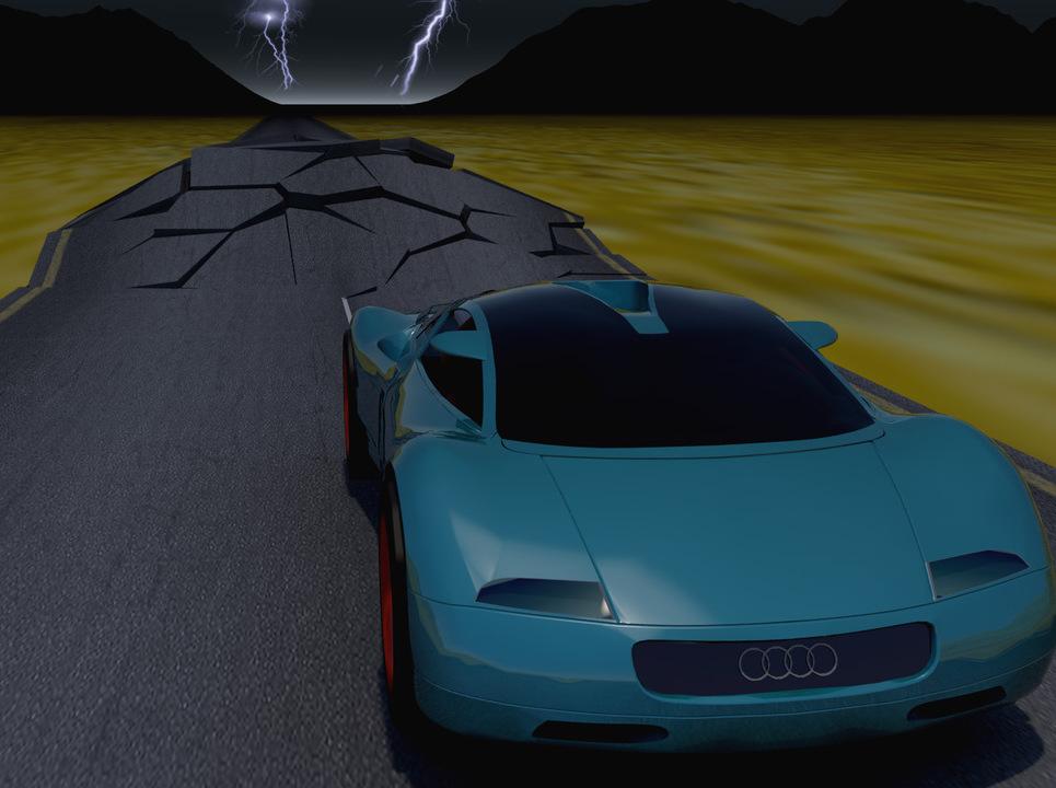 Audiiiiii 3d animation show