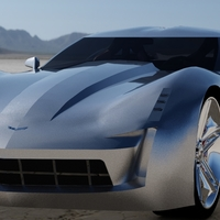 Stingray corvette v5 shot6 cover