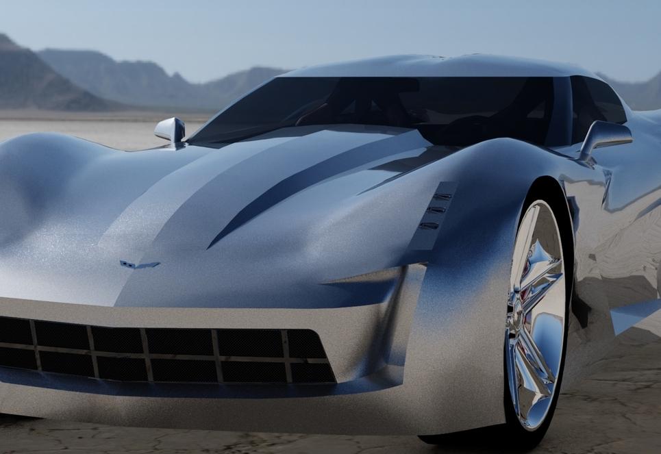 Stingray corvette v5 shot6 show