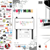 Shopping mall brochure page 1 cover