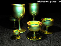 Iridescent Glass 1.0 for Maya