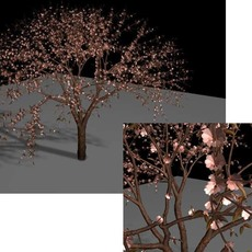 Flowering Quince Brush for Maya 3.0