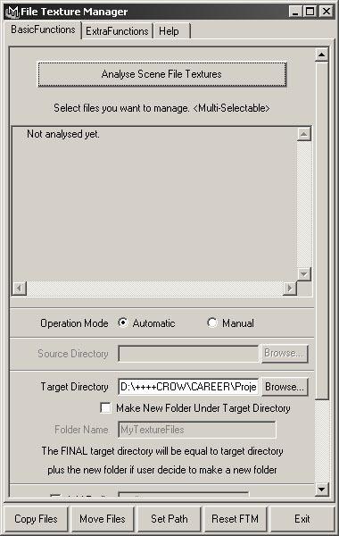 FileTextureManager for Maya