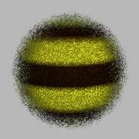 Free Fuzzy Bee (shader) for Maya 1.0