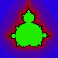 Free expression-driven Mandelbrot fractal (beta) for Maya 1.0
