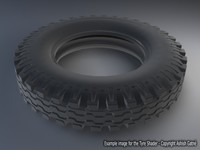 Free Tire Shader for Maya 1.0