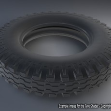 Tire Shader for Maya 1.0