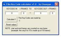 Free Film Key Code Calculator 1.0.0