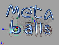 Free a Metaballs modeling (Maya 4 - 8.5) for Maya 0.9.0 (maya plugin)