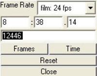 Free Keegan_ Time/Frame Converter for Maya 1.5.0 (maya script)