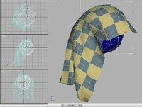 Free SimCloth3 for 3ds max 6.x for 3dsmax 1.5 (3dsmax plugin)