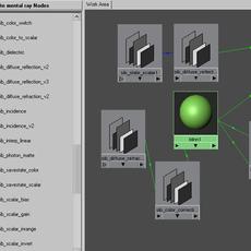 mentalray XSi shaders for MAYA for Maya 2.1