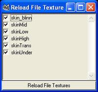 Free Keegan_reloadTexture for Maya 2.0.0 (maya script)