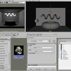 mentalray object lights for Maya 1.1 (maya plugin)