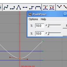 abxPushPose for Maya 1.0.0 (maya script)