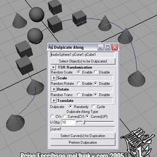 Duplicate Along for Maya 3.0.0 (maya script)