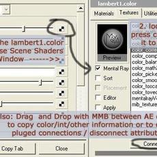 Shader List for Maya 0.4.0 (maya script)