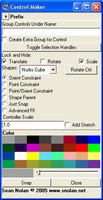Free controlMaker for Maya 1.0.0 (maya script)