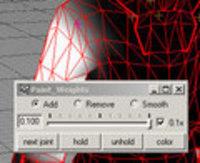 paintWeights for Maya 1.0.0 (maya script)