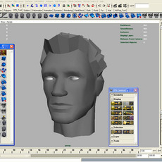 Maya 7 GUI for Low Poly Modeling And UV 3.0.0